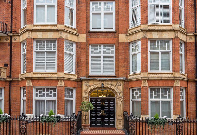 Interior Design - Montagu Mansions W1